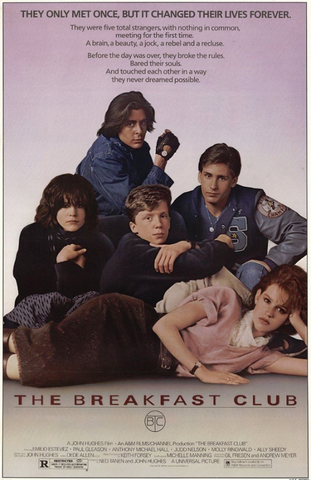 Breakfast Club One Sheet Poster