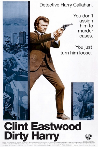Clint Eastwood Dirty Harry Poster - TshirtNow.net