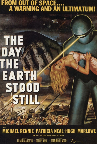 Day the Earth Stood Still Poster - TshirtNow.net
