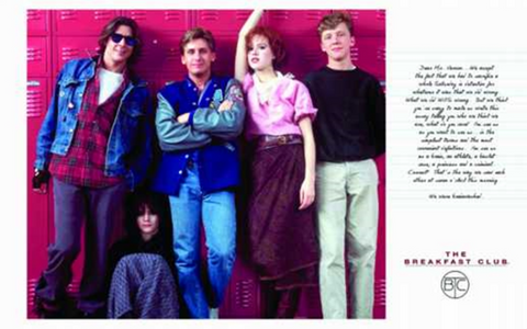 Breakfast Club Poster