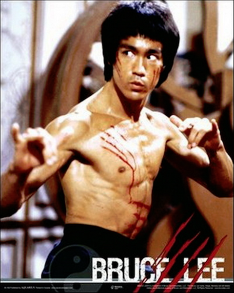 Bruce Lee Fight Pose Poster - TshirtNow.net