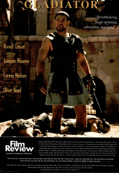Gladiator Film Review Poster - TshirtNow.net