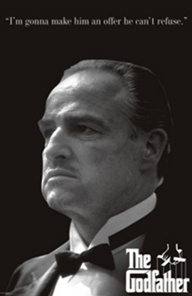 Godfather Make Him An Offer Poster - TshirtNow.net
