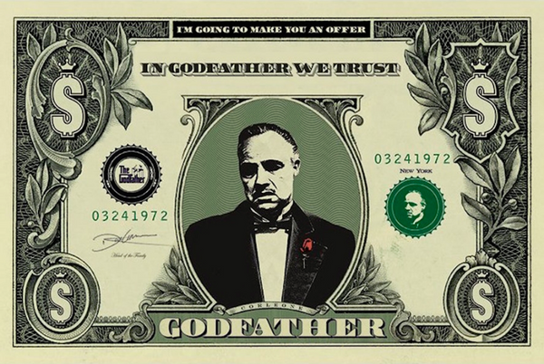 Godfather In Godfather We Trust Poster - TshirtNow.net