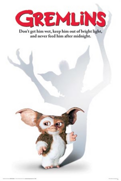 Gremlins Don't Get Him Wet Poster - TshirtNow.net