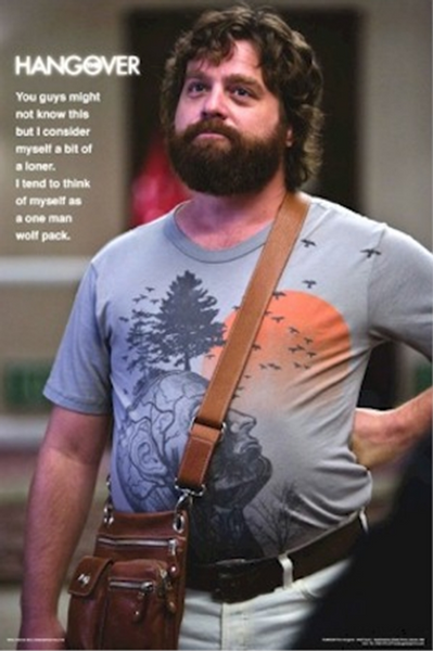 Hangover One Man Wolfpack Poster - TshirtNow.net