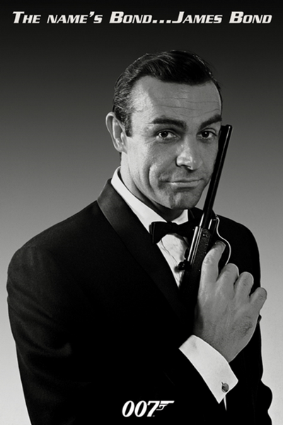 James Bond Sean Connery Poster - TshirtNow.net