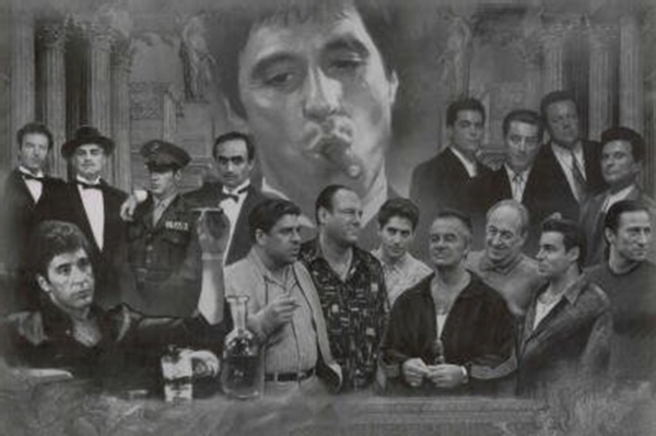 Movie Gangster Montage Poster - TshirtNow.net