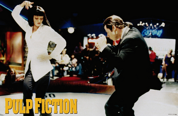 Pulp Fiction Dancing Poster - TshirtNow.net
