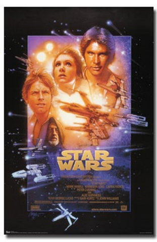 Star Wars Episode 4 Poster
