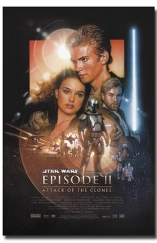 Star Wars Episode 2 Attack of the Clones Poster