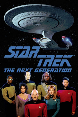 Star Trek Next Generation Crew Poster