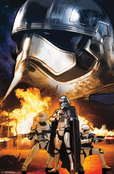 Star Wars The Force Awakens (troopers) Poster - TshirtNow.net