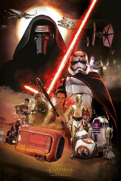 Star Wars The Force Awakens Montage Poster - TshirtNow.net