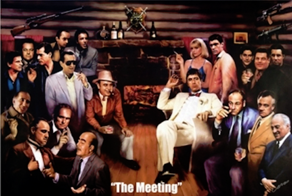 The Meeting Poster - TshirtNow.net