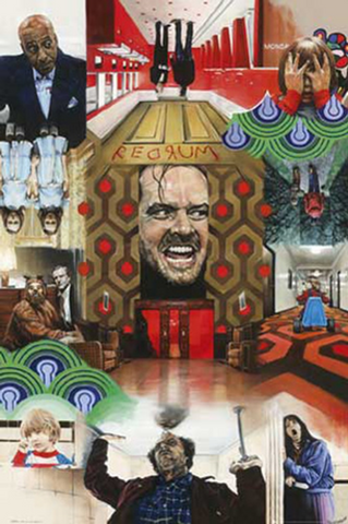 The Shining Montage Poster