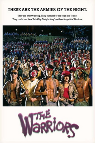 The Warriors Armies of the Night Poster