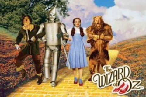 Wizard of Oz Yellow Brick Road Poster