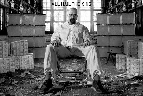 Breaking Bad All Hail The KIng Poster - TshirtNow.net