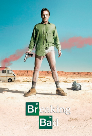 Breaking Bad Walter Underwear Poster