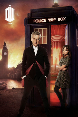Doctor Who London Fire Poster