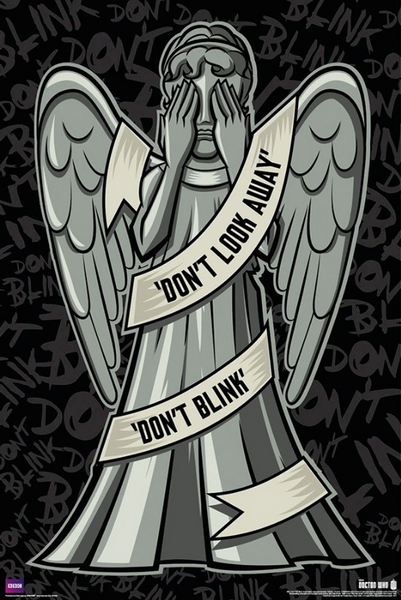 Doctor Who Weeping Angel Poster - TshirtNow.net