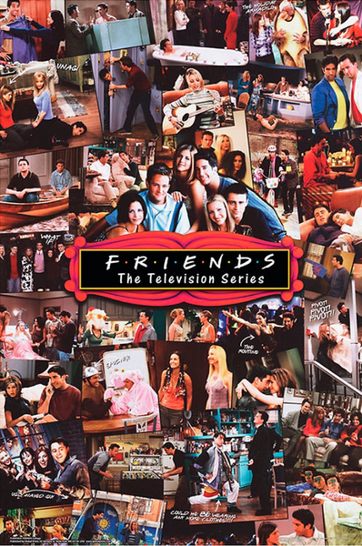 Friends Collage Poster - TshirtNow.net