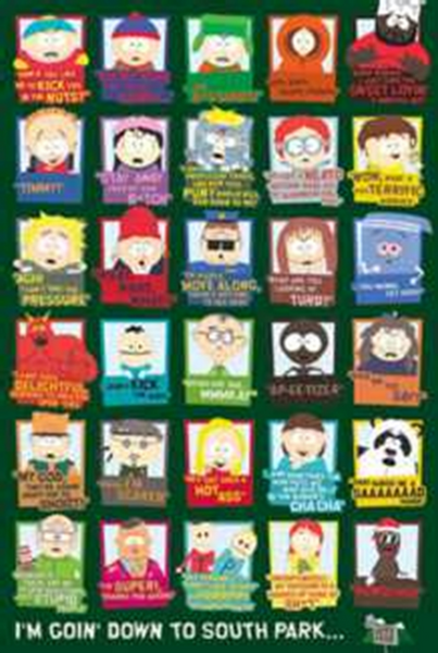 South Park Its Going Down Poster - TshirtNow.net