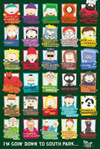 South Park Its Going Down Poster