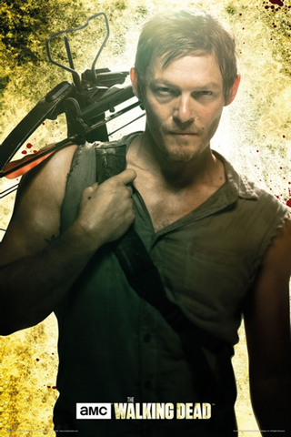 Walking Dead Daryl Season 1 Poster