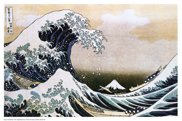 Hokusai Great Wave Poster - TshirtNow.net