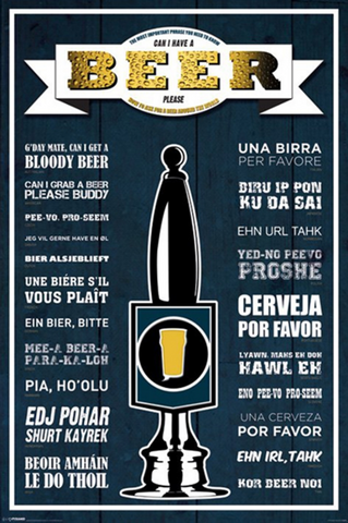 Can I Have A Beer Please? Poster