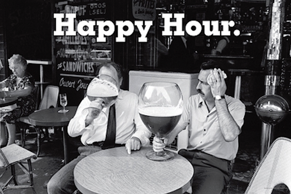 Happy Hour Poster - TshirtNow.net