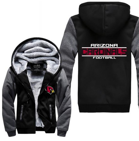 NFL ARIZONA CARDINALS THICK FLEECE JACKET
