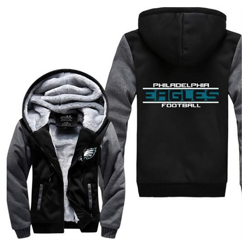 NFL PHILADELPHIA EAGLES THICK FLEECE JACKET