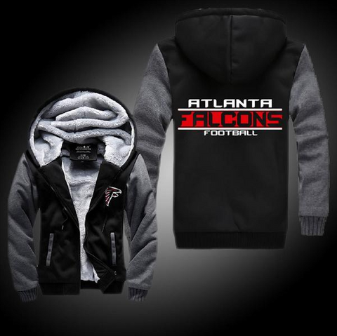 NFL ATLANTA FALCONS THICK FLEECE JACKET
