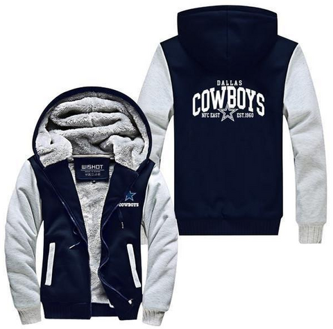 NFL DALLAS COWBOYS THICK FLEECE JACKET