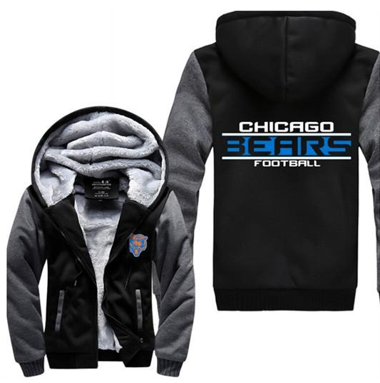 the latest f58fa d8720 NFL CHICAGO BEARS THICK FLEECE JACKET