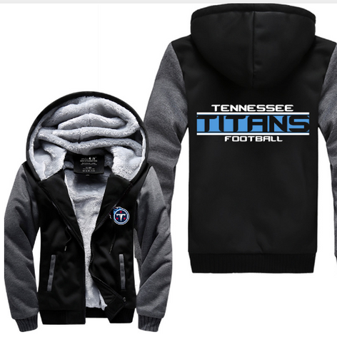 NFL TENNESSEE TITANS THICK FLEECE JACKET