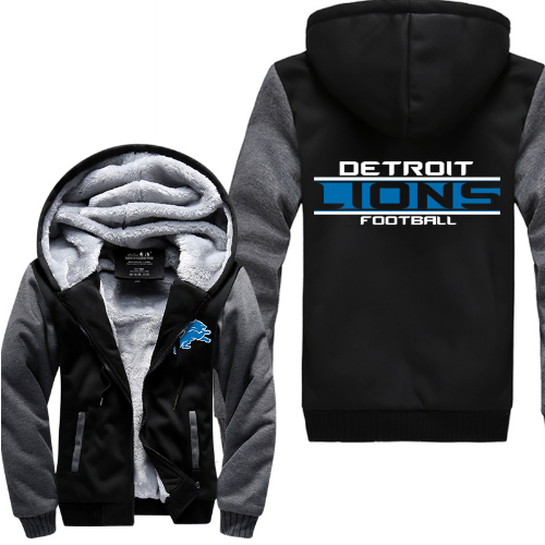 new product 3571a f9c4a lions jackets nfl