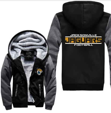 NFL JACKSONVILLE JAGUARS THICK FLEECE JACKET