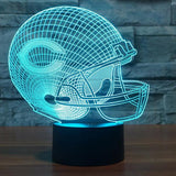 NFL CHICAGO BEARS 3D LED LIGHT LAMP