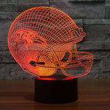 NFL BALTIMORE RAVENS 3D LED LIGHT LAMP