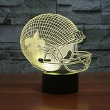 NFL NEW ORLEANS SAINTS 3D LED LIGHT LAMP