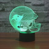 NFL TAMPA BAY BUCCANEERS 3D LED LIGHT LAMP