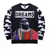 Biggie Smalls Dream$ Allover Print Crewneck Sweatshirt - TshirtNow.net - 1