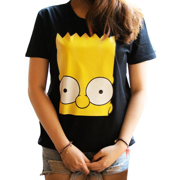The Simpsons Bart Headshot Tshirt - TshirtNow.net - 1