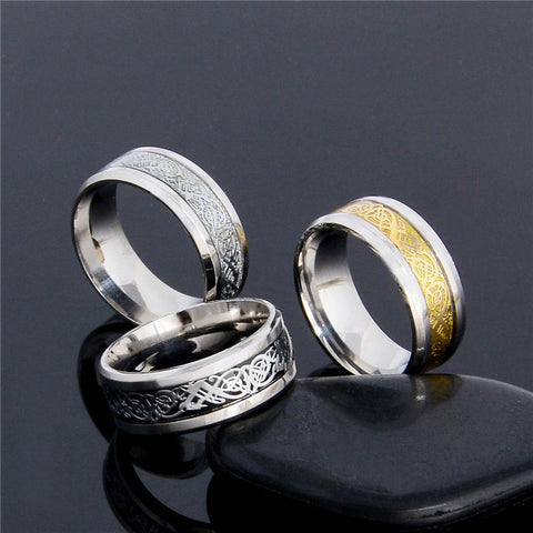 Unisex Dragon Ring