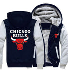 NBA CHICAGO BULLS THICK FLEECE JACKET