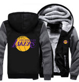 NBA LOS ANGELES LAKERS THICK FLEECE JACKET